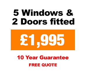 Special Offer UPVC windows and Doors package